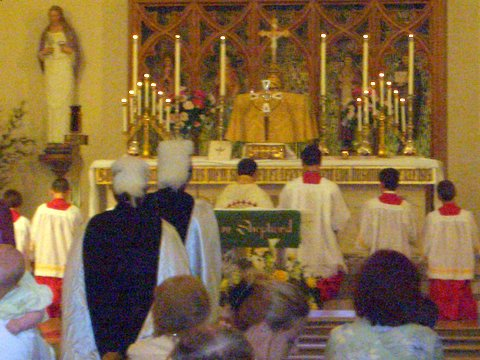 Benediction on the Feast of Corpus Christi 2006